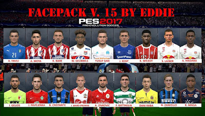 PES 2017 Facepack vol 15 by Eddie Facemaker