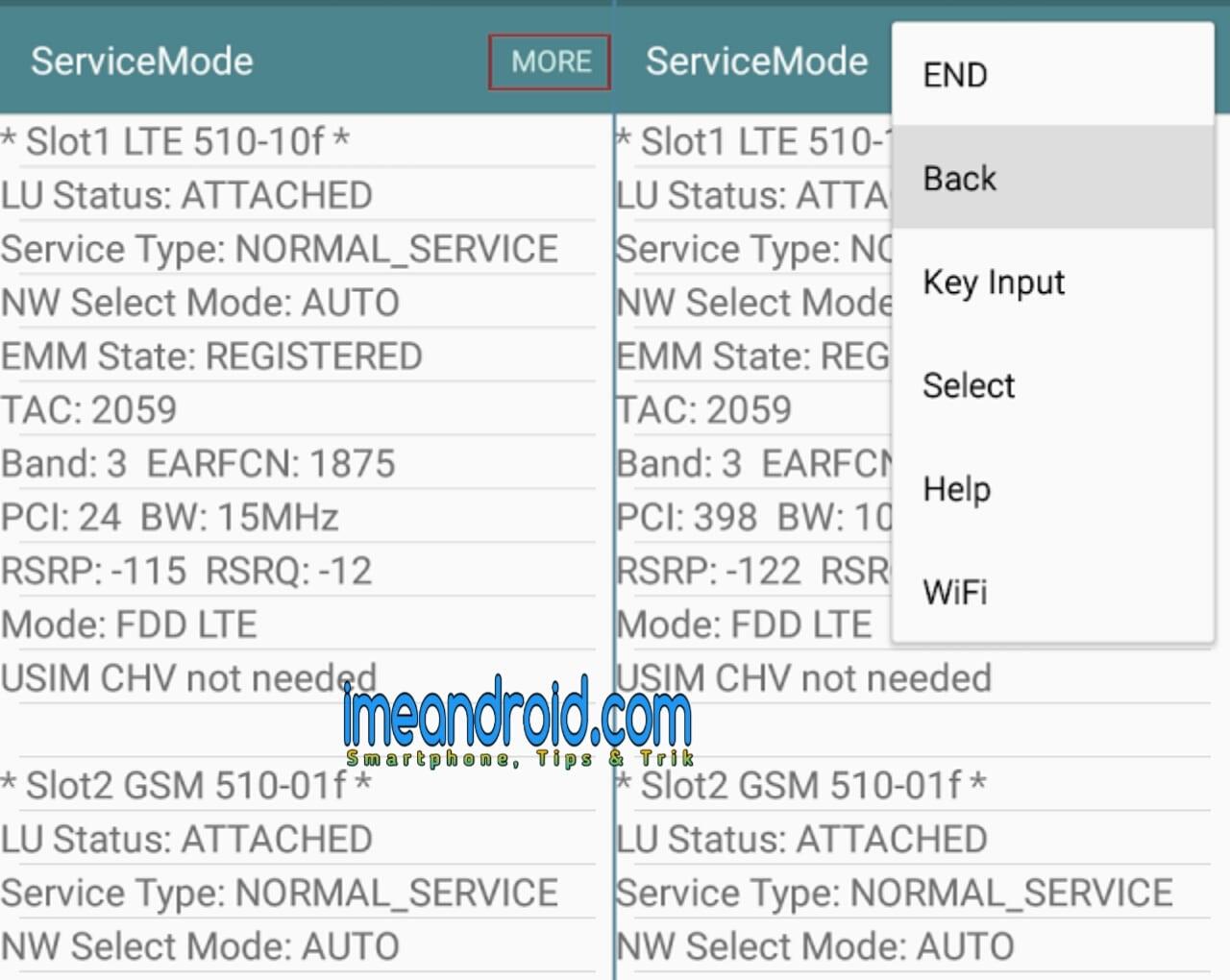 Cara Lock 4G LTE only pada hp samsung internet stabil [Tanpa root