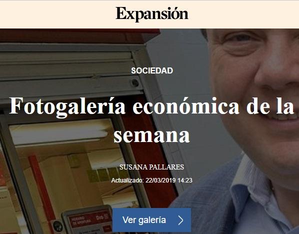 FOTOGALERIA ECONOMICA SEMANA EXPANSION 22/03/2019