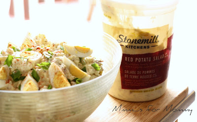 Sometimes Mommy's Gotta Cheat ... Stonemill Kitchens Red Potato Salad