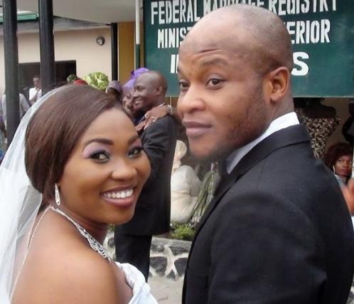 yewande adekoya met husband nysc ibadan