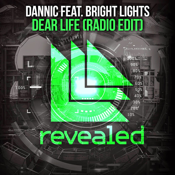 Dannic - Dear Life (feat. Bright Lights) [Radio Edit] - Single  Cover
