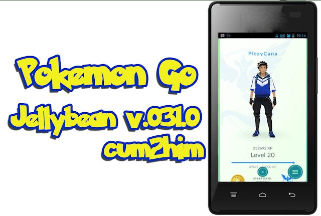 Pokémon GO Mod v0.31.0 Apk Untuk Jelly bean