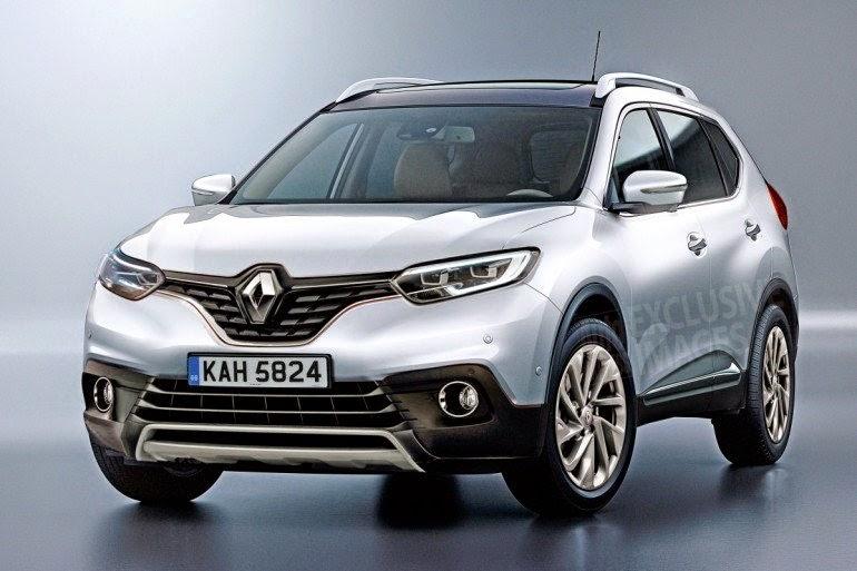 новый кроссовер Renault