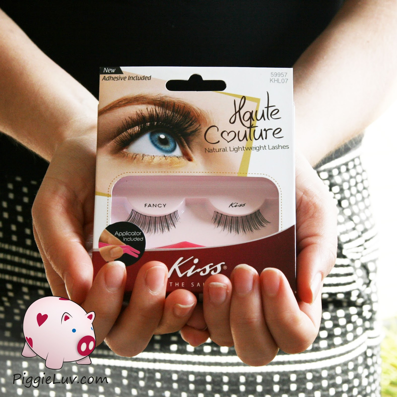 b07e7569907 PiggieLuv: Kiss Haute Couture fake eyelashes (plus some shampoo samples)
