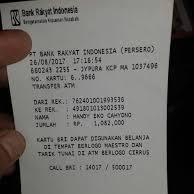 Agar Struk Keluar Saat Ambil Uang Di ATM