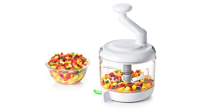 OXO One Stop Chop Manual Food Processor