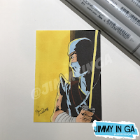 "Storm Shadow - Copic Makers on 2.5"" x 3.5"" Sketch Cards"