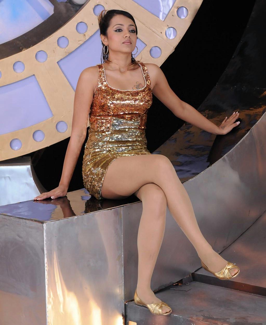 Trisha hot alluring sexy