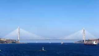 Asya ve Avrupa Kıtaları Yavuz Sultan Selim Köprüsüyle bir kez daha birleşti