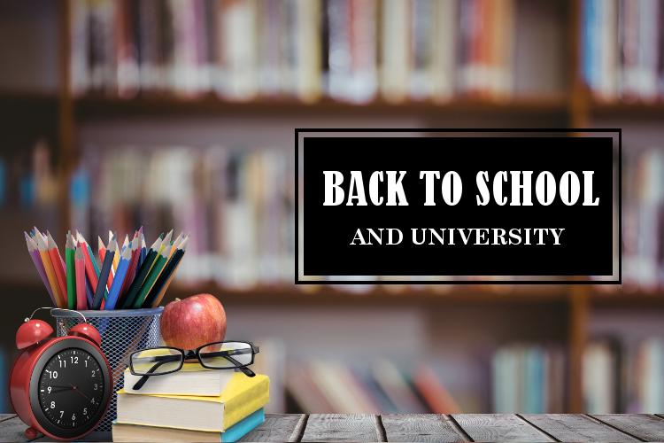 Back to school. Back to university. Powrót do szkoły/uniwersytet- porady.