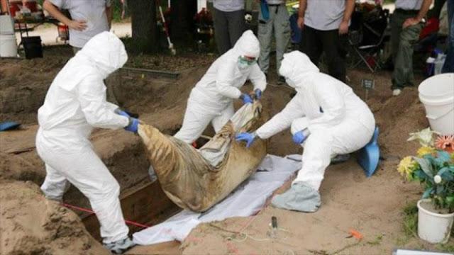 Hallan en México 1075 fosas comunes con más de 2000 cuerpos