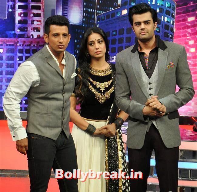 Sharman Joshi, Mahi Gill and Manish Paul, Mahi Gill Promotes Gang of Ghosts on 'Mad in India'