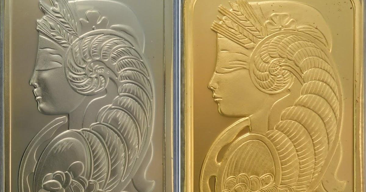 Replica Vs Real 1oz Gold Pamp Bar Comparison Bullion Baron