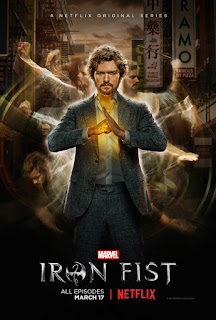 Iron Fist Finn Jones Poster
