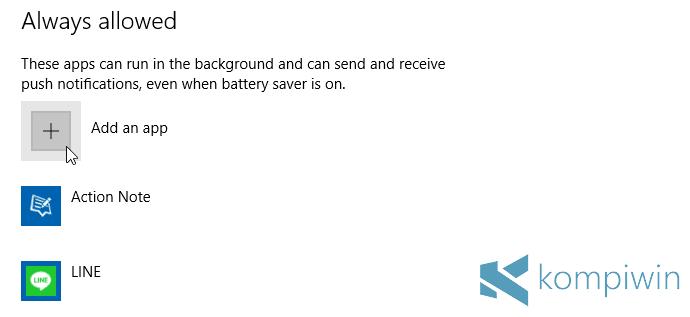 4 Tips Menghemat Baterai Laptop di Windows 10 dengan Fitur Battery Saver 5