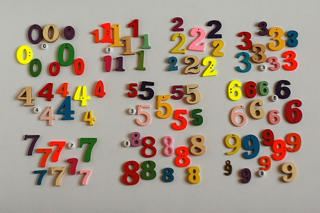 Mixed style Numbers for educational math games