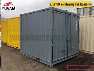 10luk depo yük konteyneri
