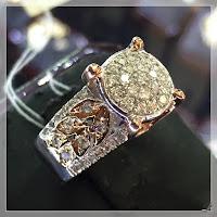 Jual Cincin Emas Berlian Eropa