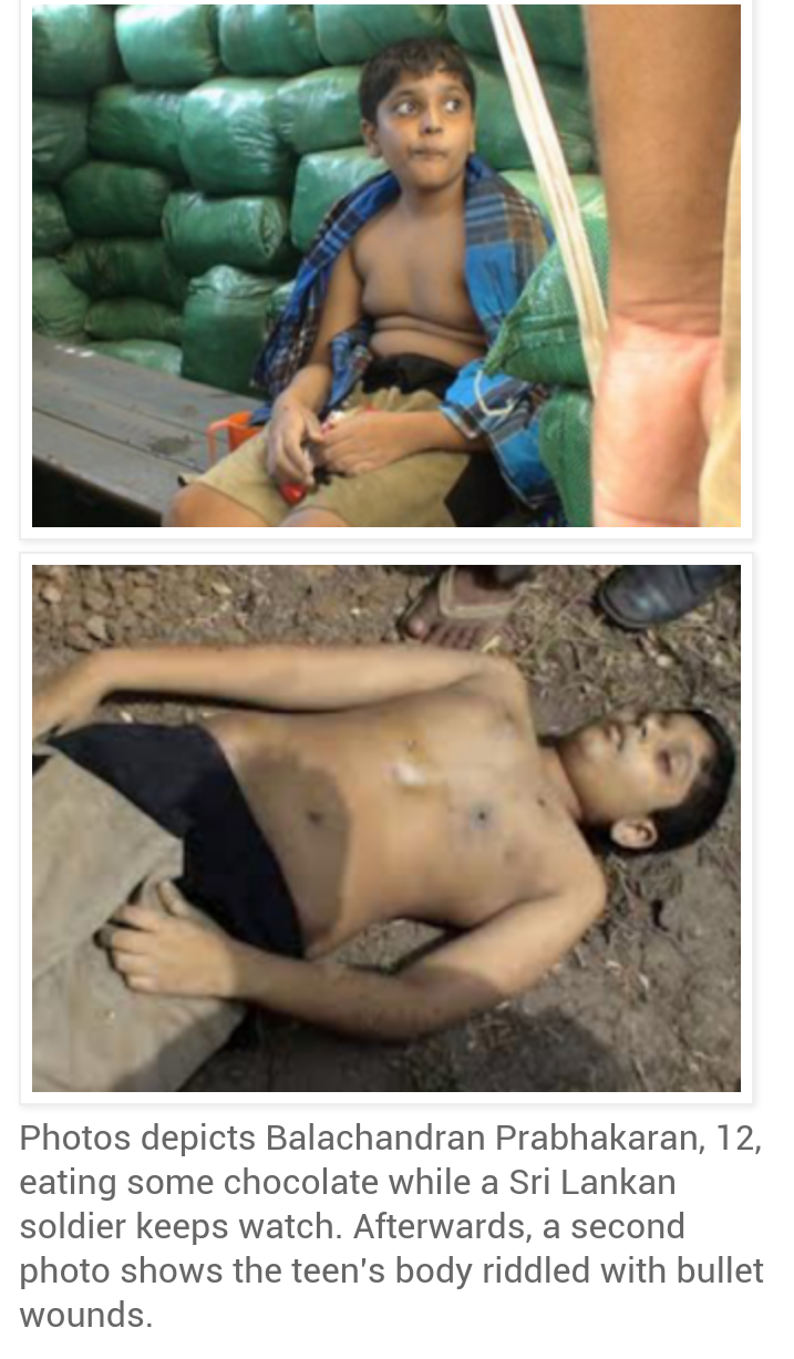 Sri Lankan Soldiers Allegedly Raped And Executed Tamil Lt