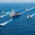 Авианосец USS Carl Vinson с друзьями идут на юбилей Ким Ир Сена