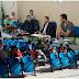Um mês depois da enchente famílias continuam alojadas em ginásio de esportes em Buri.