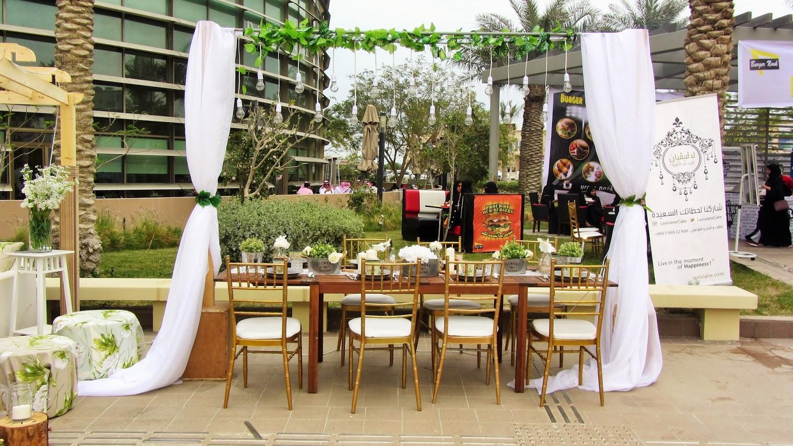 Mathaq Taste of Art Food Al-Khobar Saudi seating eating rental blog
