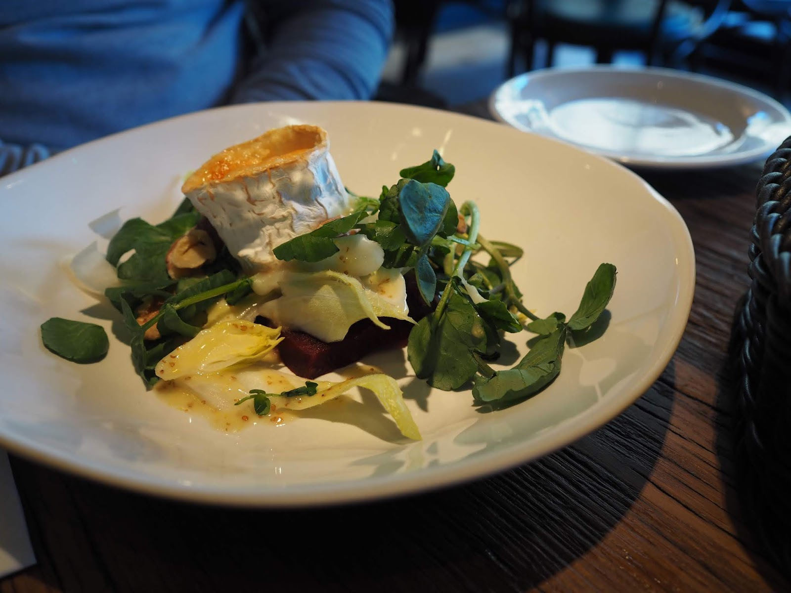 Bistrot Pierre Middlesbrough restaurant review goats cheese salad starter
