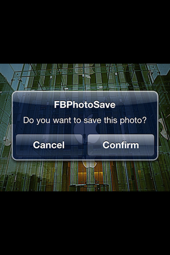 Save Facebook Photos To Your iPhone With Official Facebook App [Jailbreak Tweak]