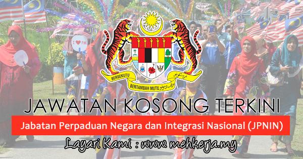Jawatan Kosong Terkini 2017 di Jabatan Perpaduan Negara dan Integrasi Nasional (JPNIN)