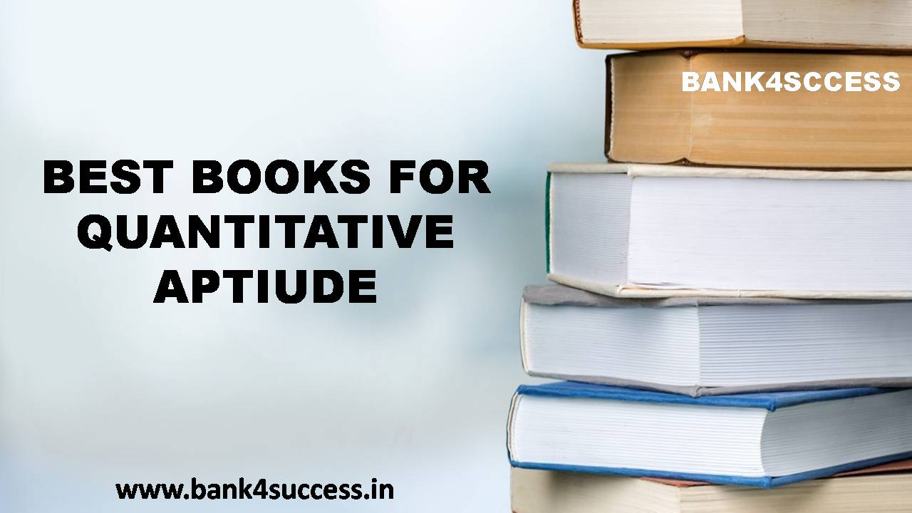 Best Quantitative Aptitude Preparation Book for Bank Exam Pdf