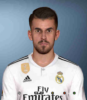 PES 2017 Faces Dani Ceballos by Shenawy