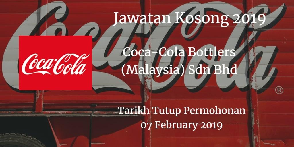 Jawatan Kosong Coca-Cola Bottlers (Malaysia) Sdn Bhd 07 February 2019