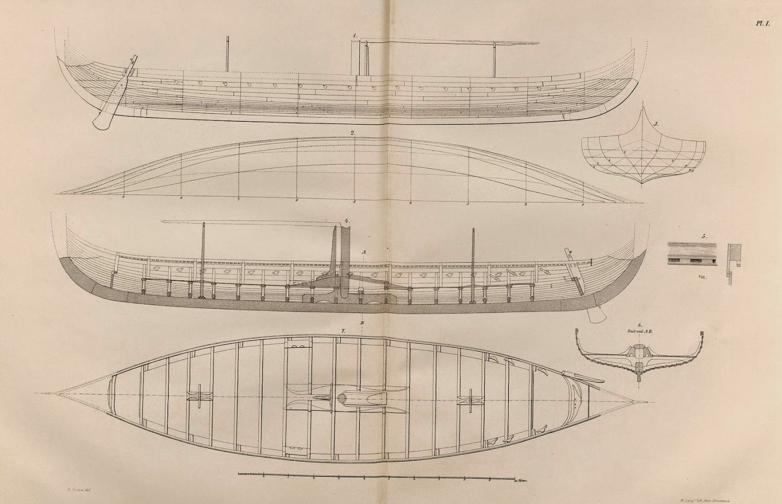 hight resolution of gokstad ship