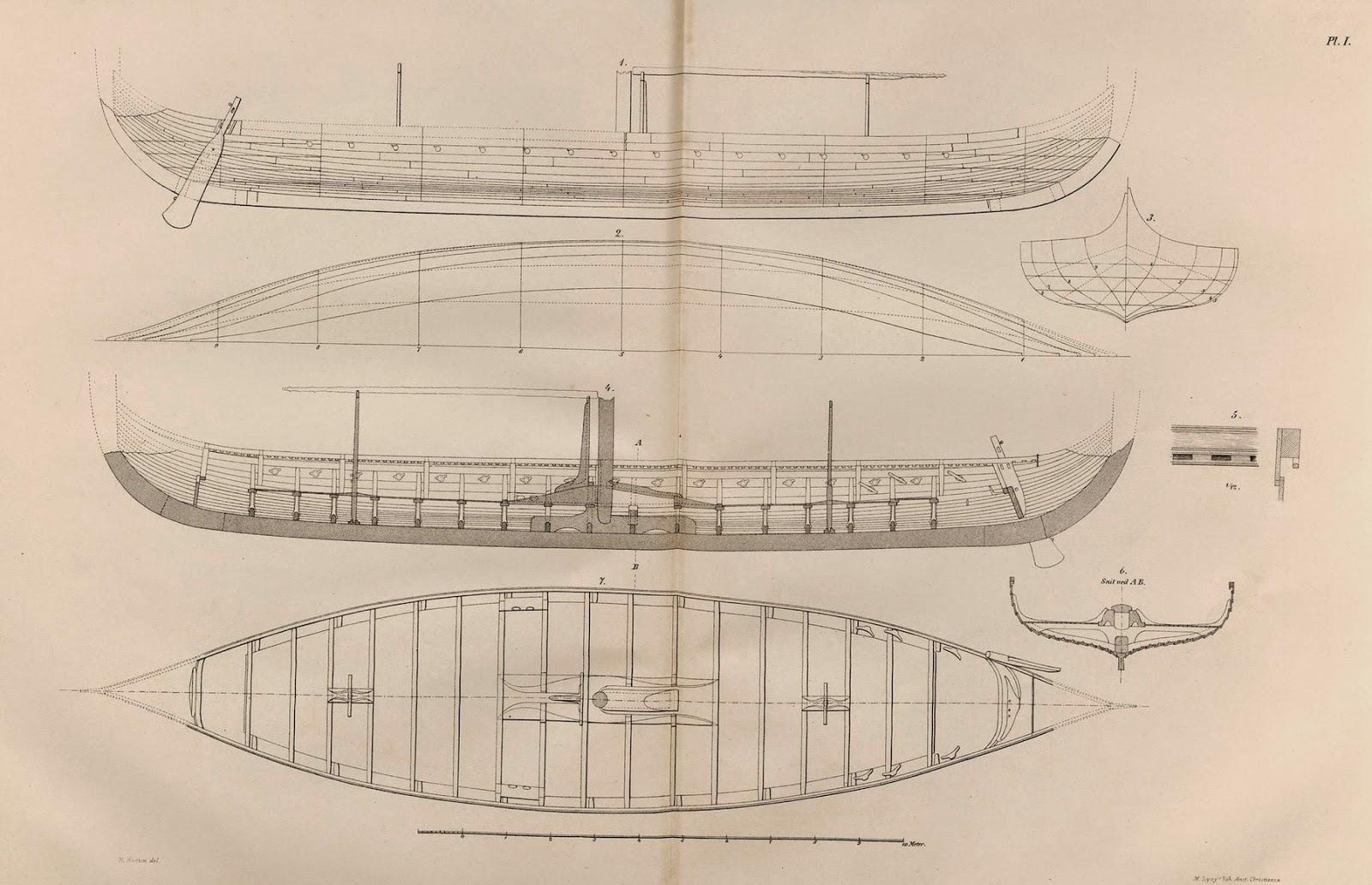 gokstad ship [ 1600 x 1032 Pixel ]