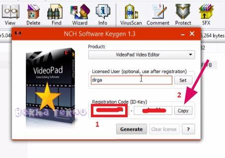 keygen videopad 5.04
