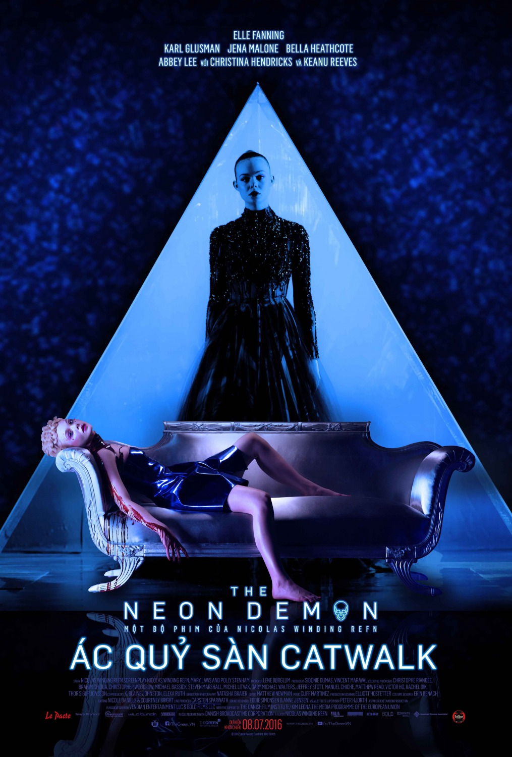 Nuevo póster internacional de 'The Neon Demon'