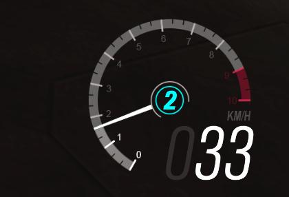 Velocímetro Realista por DK22Pac para GTA San Andreas