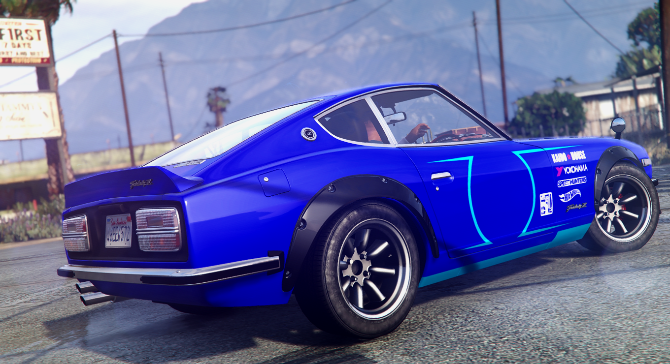 Released Nissan Fairlady Z Hot Wheels Need For Sd Version Livery