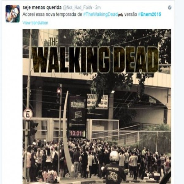 walking dead enem
