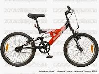 Sepeda Gunung Wimcycle Vulcan 1 Speed 20 Inci