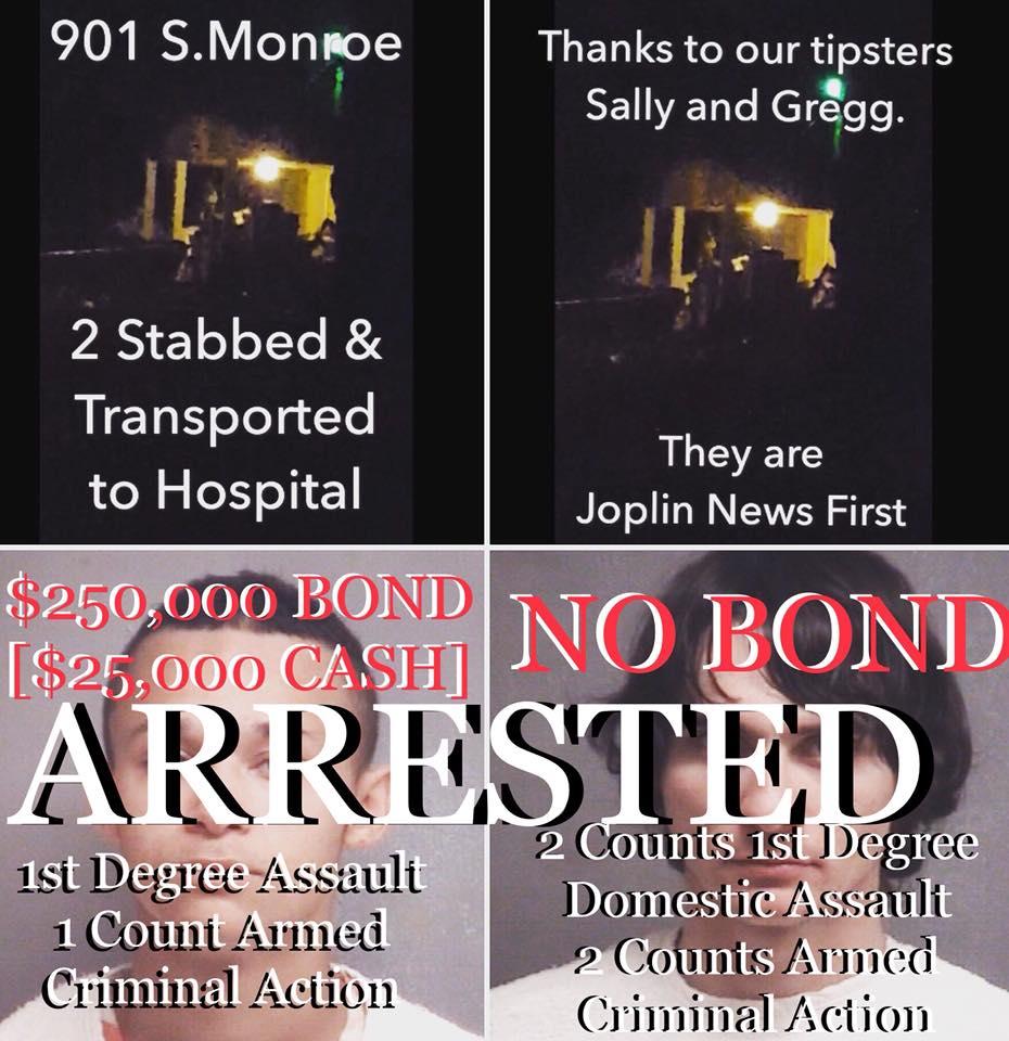 Joplin News First: First on Joplin News First - Joplin Stabbing