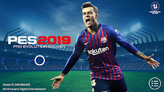 PES 2019 Mobile Android Patch Full Kits,Logos Fixed