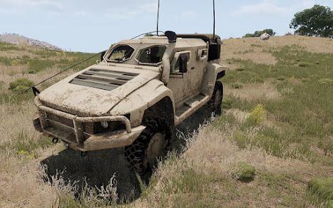 Arma3のオーストラリア軍Hawkei MOD