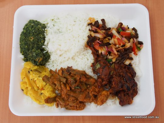 B Kyu Abie S Vegetarian Amp Sinthu Takeaway Sri Lankan