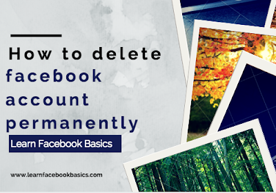 How to delete faceɓook account permanently