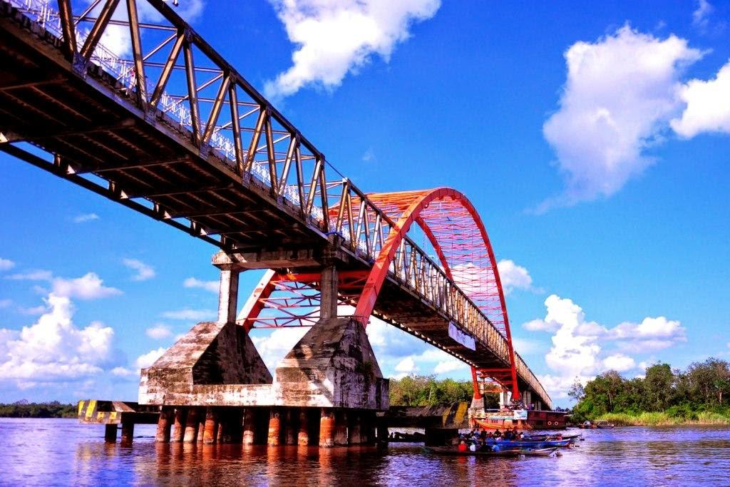 Gambar Jembatan Wfc Kuala Tungkal