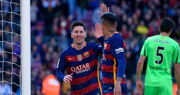 Hasil Kompetisi di La Liga dua ke sebelasan Barcelona versus Getafe skor : 6 - 0