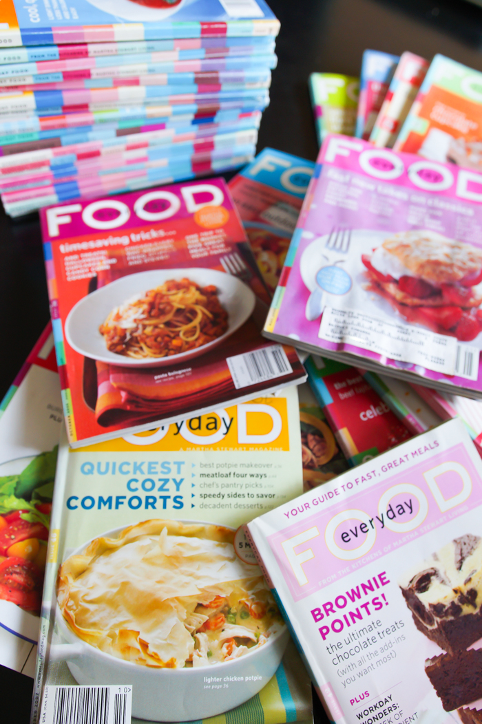 How to organize your old martha stewart everyday food magazines how to organize your old martha stewart everyday food magazines forumfinder Images