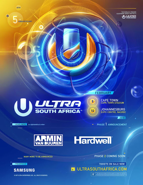 Ultra South Africa Announces Phase One Lineup
